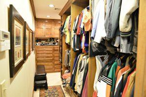 Debbie Ellis master closet his