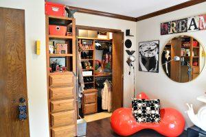Debbie Ellis upstairs bedroom 3 storage