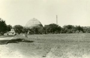 church under construction 1956