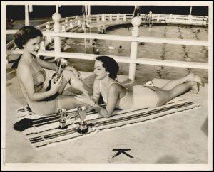 cushing pool 1950 beauty contestants