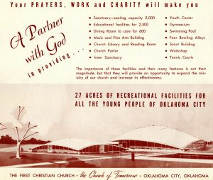 first christian church fundraising brochure 2 youth center