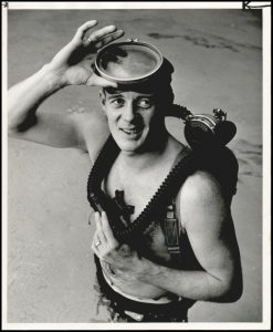 scuba pool 1958