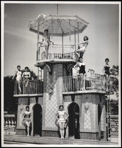 wentz park swimming pool pC 1958