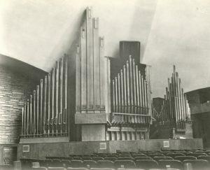 first christian church organ 1956 pipes