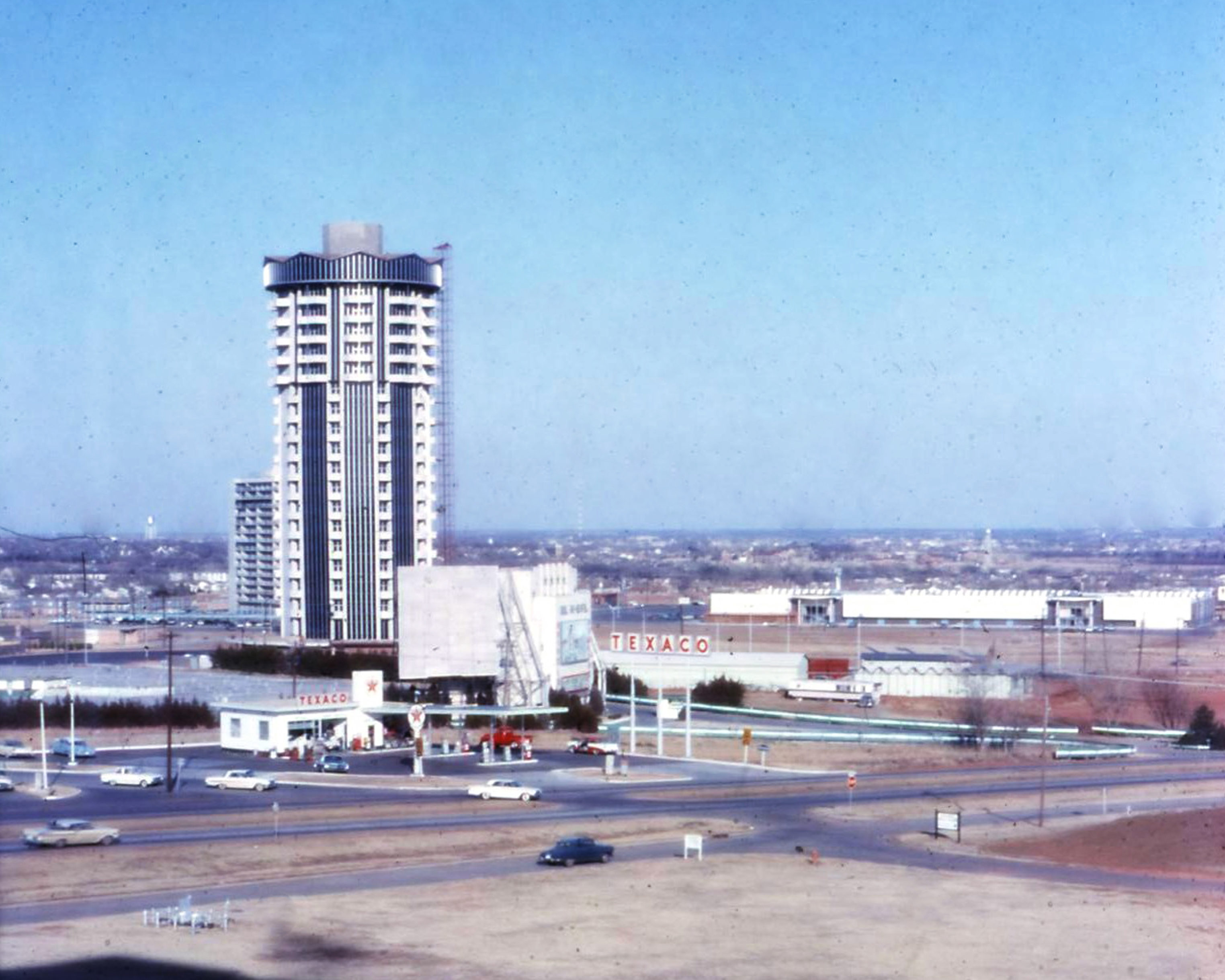 founders tower mid 1960s district