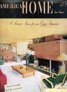 Vahlberg house American Home mag june 1948