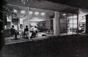 Vahlberg house American Home mag june 1948 outside looking in