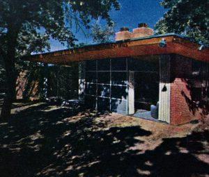 Vahlberg house American Home mag june 1948 windows