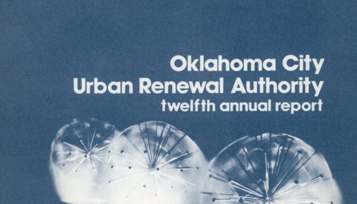 Urban Renewal Authority Annual Report – 1973