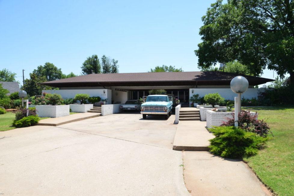 gray hopkins house exterior truck tiffany