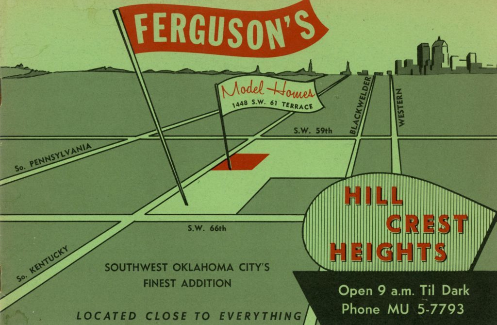 Hill Crest Heights: Southwest Oklahoma City's Finest Addition