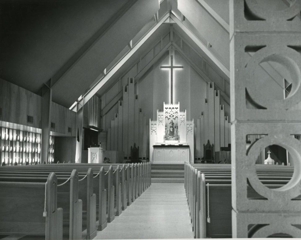 Evangelical and Reformed church sanctuary - r. duane conner