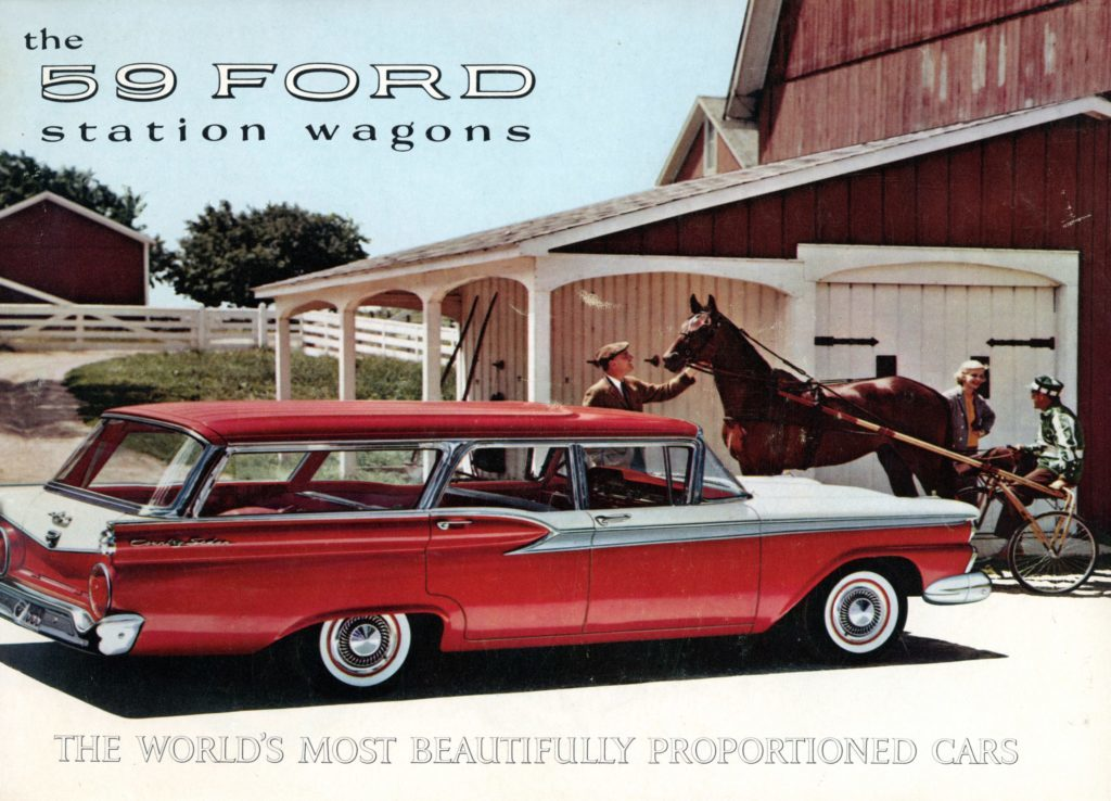 The '59 Ford Station Wagons: The World's Most Beautifully Proportioned Cars