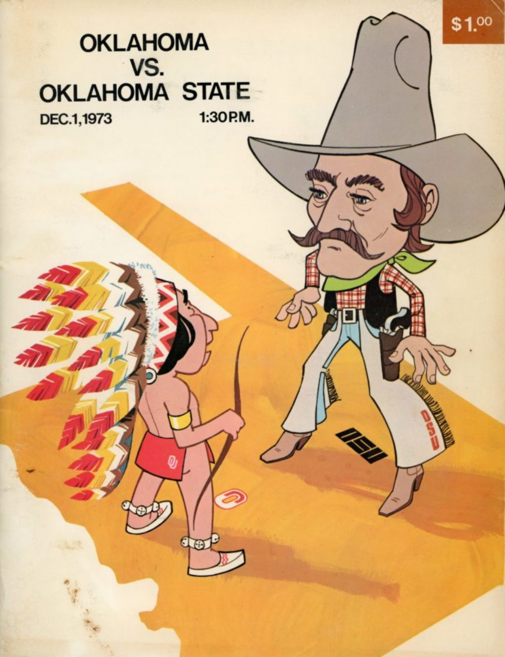 OU vs. OSU: Bedlam 1973