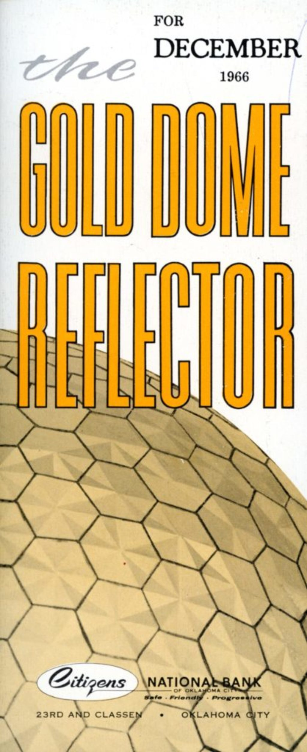 The Gold Dome Reflector: Our Christmas Gifts To You