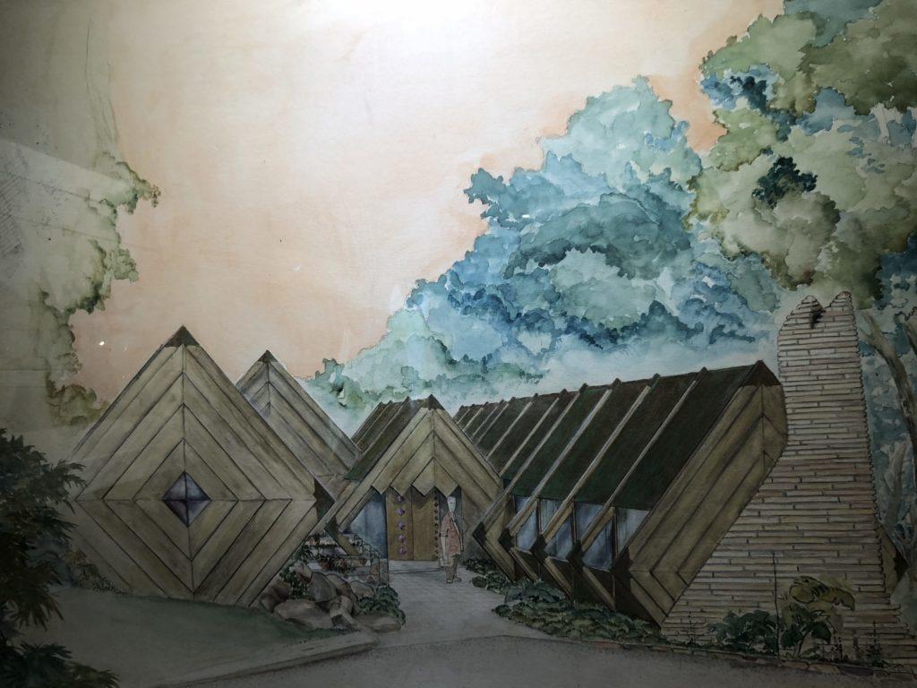 bruce goff american school exhibit bizzell library 2018-2019