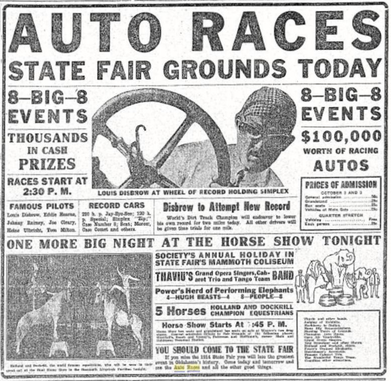 Remembering the Southwest Sweepstakes Race of 1915, part 1